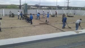 edp roofing crew BUR