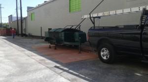 edp roofing tar truck